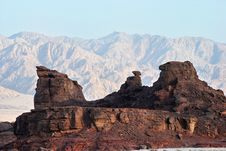 Free Geological Formations At Timna Park, Israel Royalty Free Stock Photography - 16798887