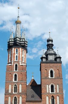 Free The Mariacki Church Stock Images - 16799034