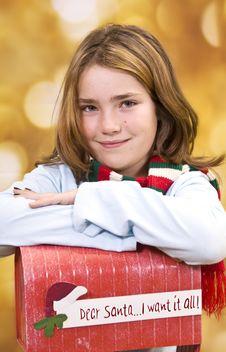 Free Wishes For Santa Royalty Free Stock Photos - 16799038