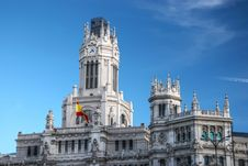 Free Central Post Office, Madrid. Royalty Free Stock Image - 16799116
