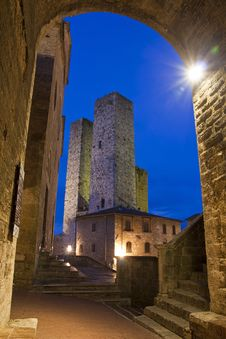 Free San Gimignano Royalty Free Stock Images - 16799209