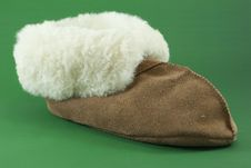 Free Warm Slipper Royalty Free Stock Photography - 16799407