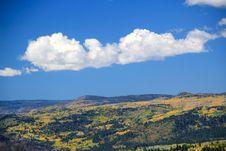 Free Beautiful Fall Mountainscape Royalty Free Stock Photos - 16799528