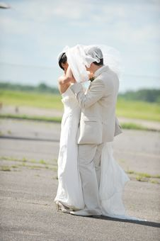 Free Bride  And Groom Stock Image - 16799681