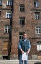 Free Man In Front Of Ruined House Royalty Free Stock Photography - 1689207