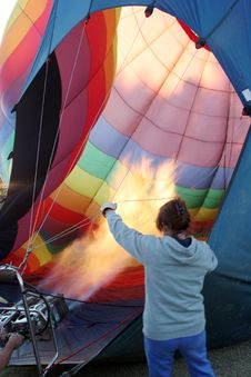 Free Hot Air Balloon Stock Photography - 1680472