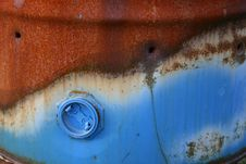 Rusty Oil Barrel Stock Photos