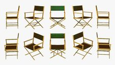 Free Director Chair Royalty Free Stock Image - 1680846