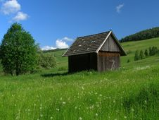 Free Wooden Hut Stock Image - 1681151