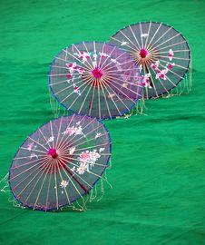Free Ceremony Umbrella2 Royalty Free Stock Photo - 1681425
