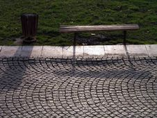 Free Bench On The Sun Royalty Free Stock Photo - 1681455