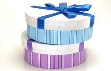 Free Gift Boxes Royalty Free Stock Photo - 1681655