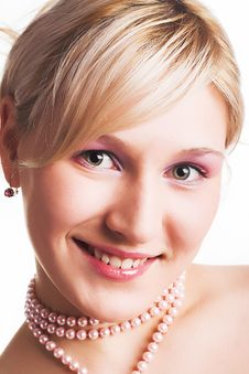 Free Beautiful Young Woman With Green  Eyes Smiling Stock Images - 1682064