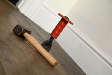 Hammer And Chisel Royalty Free Stock Photo