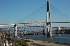 Free Three Bridges Royalty Free Stock Image - 1684166