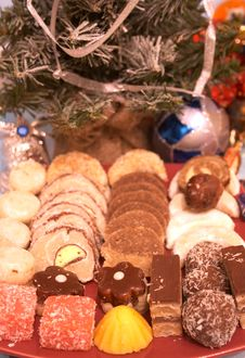 Free Christmas Cookies 4 Royalty Free Stock Photos - 1685738