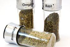Free Oregano, Basil, Rosemary Stock Images - 1686824