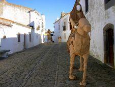 Free Monsaraz Village Royalty Free Stock Photos - 1686988