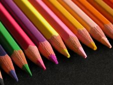 Free Color Pencils Royalty Free Stock Image - 1688266