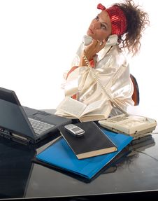 Free Office Work Royalty Free Stock Image - 1689016