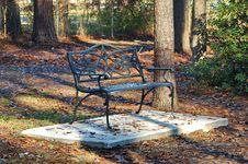 Free Park Bench Stock Image - 1689031