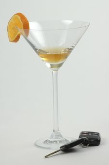 Free Martini And Keys Stock Images - 1689064