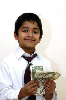 Pocket Cash Royalty Free Stock Image