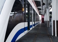 Free Monorail. Stock Photography - 1689652