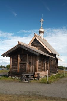 Free Old Wooden Chapel Stock Photo - 1689720