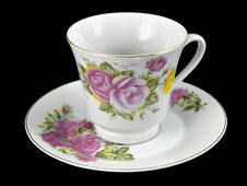 Free Coffee Cup & Saucer Stock Photo - 1689790