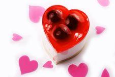 Free Love Shaped Dessert Royalty Free Stock Photos - 1689978