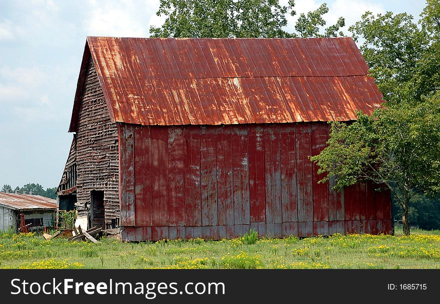 Rustic Barn Shed