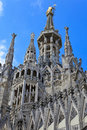 Free The Central Spire Of A Cathedral Duomo, Milan Royalty Free Stock Photography - 16801357