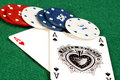 Free Ace Of Hearts And Ace Of Spades Royalty Free Stock Photo - 16806255