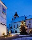 Free Nove Mesto Nad Metuji At Christmas Royalty Free Stock Image - 16806576