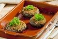 Free Baked Champignons Stock Photo - 16806760
