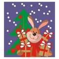 Free Hare New Year Gift In Color 11 Royalty Free Stock Images - 16806839