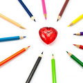 Free Colorful Heart Stock Images - 16809084