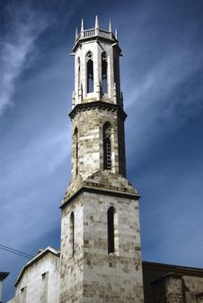 Free Tower - San Agustin, Valencia. Royalty Free Stock Images - 16800429