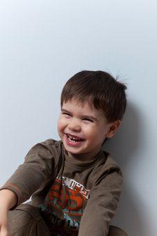 Free Smiling Three Year Old Boy Royalty Free Stock Photos - 16800748