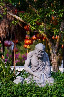 Free Arhat Statue Stock Photo - 16800790