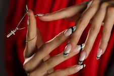 Free Beautiful Hands And Nails Royalty Free Stock Photos - 16801598