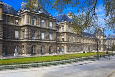 Free Luxembourg Palace, Paris, France Stock Image - 16801611