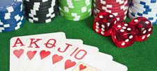 Free Gambling - Poker Concept - Stock Photo - 16801810