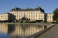 A Palace In Stockholm Stock Image