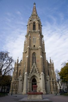 Free A Church In Vienna Royalty Free Stock Image - 16803696