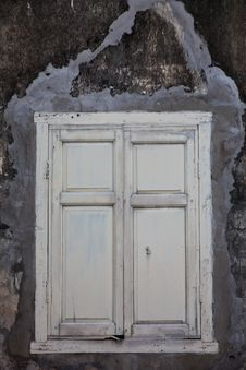 Old Window With Classic Style Royalty Free Stock Images