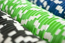 Free Casino Gambling Chips Royalty Free Stock Image - 16804216