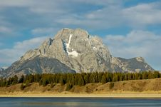 Free Mount Moran Royalty Free Stock Photo - 16804875