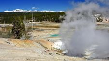 Free Porcelain Geyser Basin, Yellowstone National Park Stock Image - 16805291